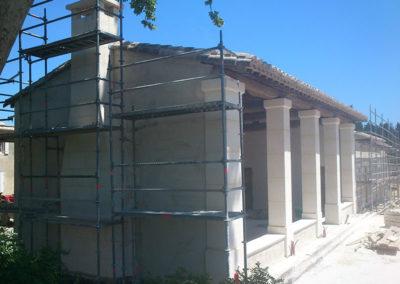 Restauration / Renovation façade d'une résidence - Les Baux de Provence