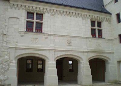Restauration d'une façade après
